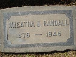 Wreatha Belle <I>Dalgleish</I> Randall