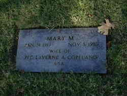 Mary M Copeland