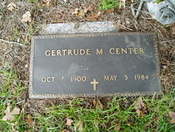 """Gertrude """"Gertie"""" <I>Meeks</I> Center"""
