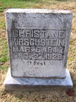 Christane Kirschstein