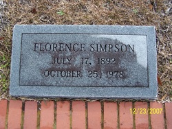 Florence Simpson