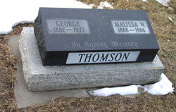Alice Malissa <I>Winterton</I> Thomson