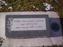Norma Jean <I>Welman</I> Naugler