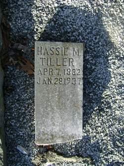 Hassie Mae <I>Harris</I> Tiller
