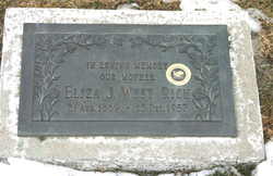 Eliza Jane <I>West</I> Rich