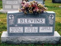 Ruth J. <I>Sell</I> Blevins