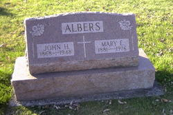 Mary E. <I>Barhorst</I> Albers