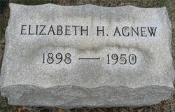 Elizabeth Herndon <I>Smith</I> Agnew