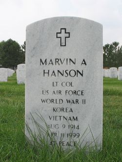 Marvin A Hanson