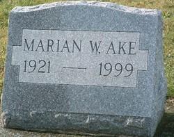 Marian W. Ake