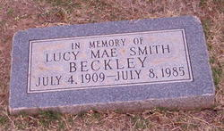 Lucy Mae <I>Smith</I> Beckley
