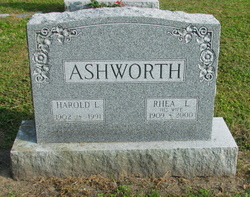 Harold Lester Ashworth, Sr