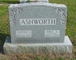 Rhea Louise <I>Fellows</I> Ashworth