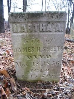 Martha A. <I>Lamb</I> Sheets