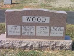 Winifred Elizabeth <I>Swank</I> Wood