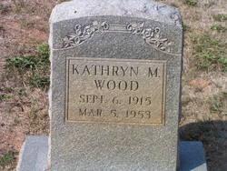 Kathryn M Wood
