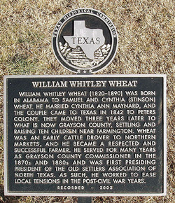 William Whitley Wheat