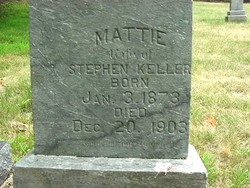 Mattie A. <I>Pierce</I> Keller