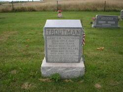 """Anna M """"Annie"""" <I>Lake</I> Troutman"""