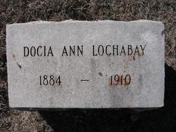 Docia Ann <I>Marler</I> Lochabay