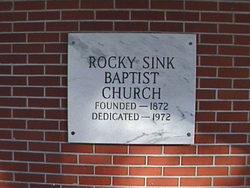 Rocky Sink Cemetery
