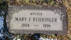 Mary Frances <I>Brogan</I> Behringer
