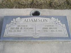 Thelma Melvina <I>Flygare</I> Adamson