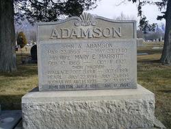 Mary Eveline <I>Marrott</I> Adamson