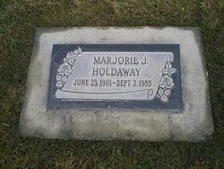 Marjorie J Holdaway