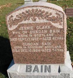 Jessie <I>Clark</I> Bain