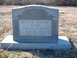 Myrtle <I>Conner</I> Aclin