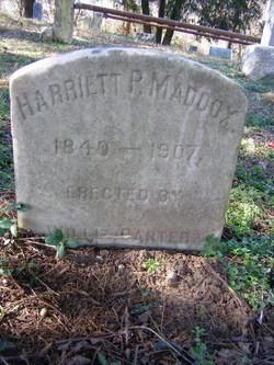 Harriett P Maddox