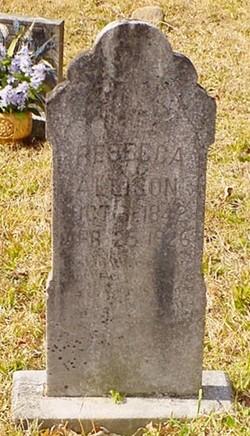 Margaret Rebecca <I>Biddix</I> Allison