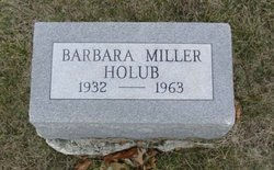 Barbara <I>Miller</I> Holub