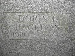 Doris <I>Frederick</I> Hagedon