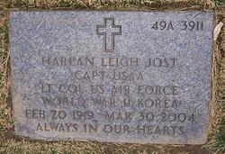 Capt Harlan Leigh Jost