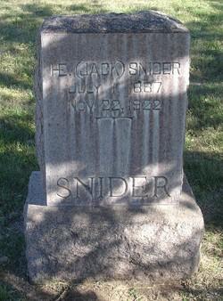 """Henry Emmet """"Jack"""" Snider"""