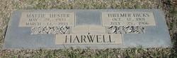 Mattie Hester Harwell