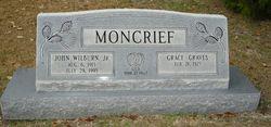 Grace <I>Graves</I> Moncrief