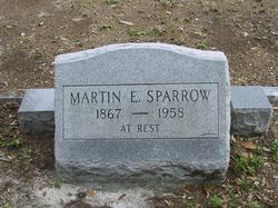 Martin E Sparrow
