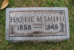 """Harriette M. """"Hattie"""" <I>Davis</I> Smith"""