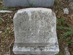 William Gottleib Reinhold Koehler
