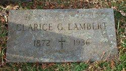 Clarice G Lambert