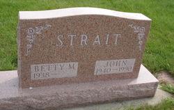 Betty M Strait