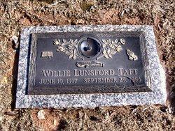 Willie <I>Lunsford</I> Taft