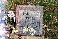 Paul B. Dowell