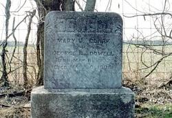 Mary Jane <I>Clark</I> Dowell
