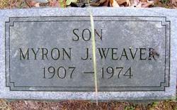 Myron J Weaver