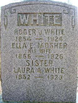 Laura A White