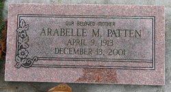 Arabelle M Patten